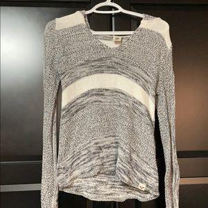 Hooded Roxy Sweater